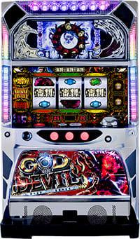 ハイライツエンターテイメント 神の左手悪魔の右目/HC実機 【コイン不要機付き】