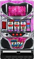 サミー パチスロ ディスクアップ/ZS 【ピンクパネル】【コイン不要機付き】