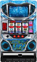 サミー パチスロ ディスクアップ/ZS 【ブルーパネル】【コイン不要機付き】