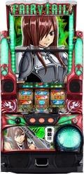 藤商事 パチスロ FAIRY TAIL(フェアリーテイル) FSA実機 【エルザパネル】【コイン不要機付き】
