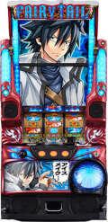 藤商事 パチスロ FAIRY TAIL(フェアリーテイル) FSA実機 【グレイパネル】【コイン不要機付き】