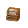木製カントリー雑貨ドキュメントラック