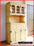 カントリー家具 食器棚 カップボード