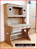 カントリー家具学習机