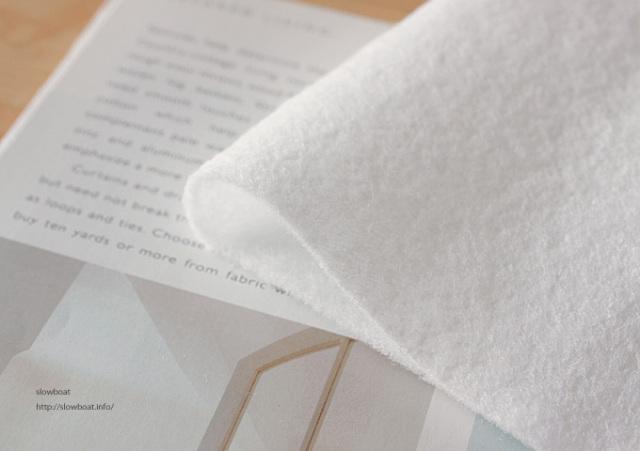 片面アイロン接着のキルト綿【1m×1m】