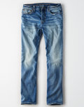American Eagle  NE(X)T LEVELオリジナルストレートジーンズ(Medium Tinted Indigo)