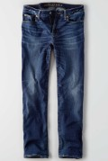 American Eagle  NE(X)T LEVELストレートジーンズ(Authentic Dark Indigo)