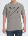 Malibu Shirts  MYRTLE ROWING CLUB半袖TEE (グレー)