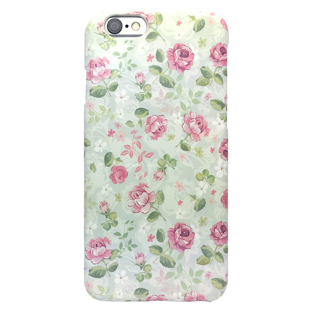 iPhone6/6s シリコンケース/ 小花柄