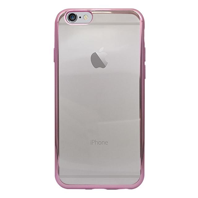 iPhone6s/6 シリコンケース/ ピンク