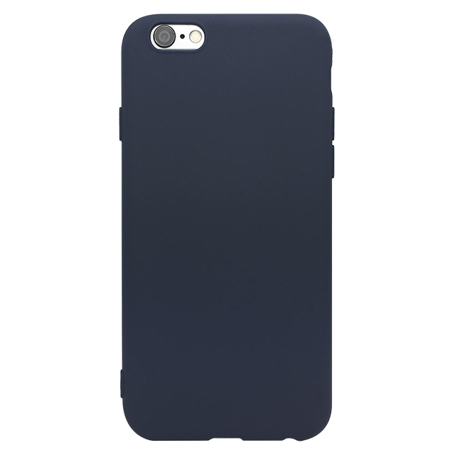 iPhone6s/6 シリコンケース/ ネイビー