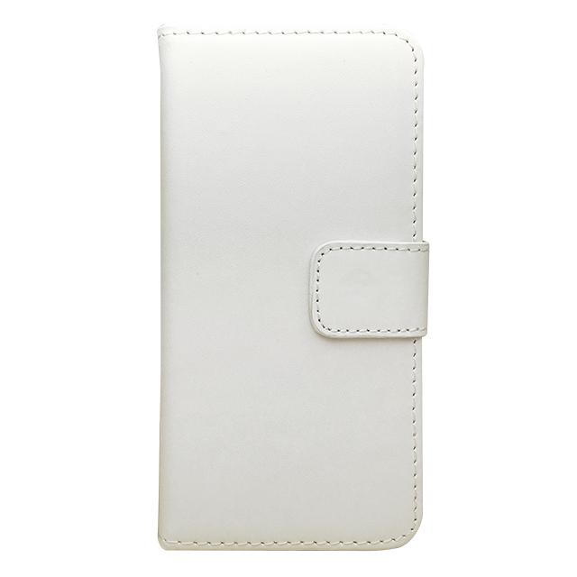 iPhone6 合皮ブックレットケース/ ホワイト