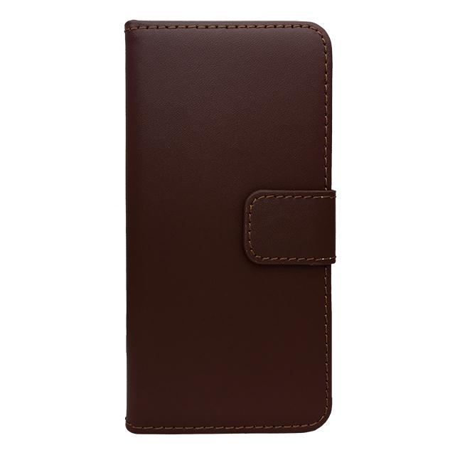 iPhone6 合皮ブックレットケース/ ブラウン