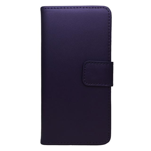 iPhone6 合皮ブックレットケース/ パープル