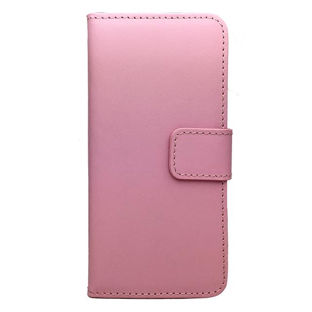 iPhone6 合皮ブックレットケース/ ピンク