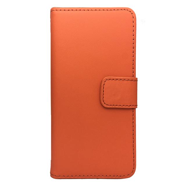 iPhone6 合皮ブックレットケース/ オレンジ