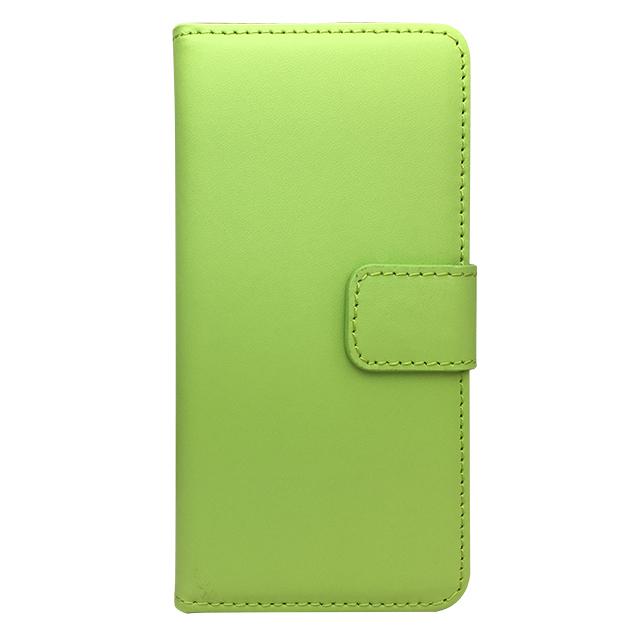 iPhone6 合皮ブックレットケース/ グリーン