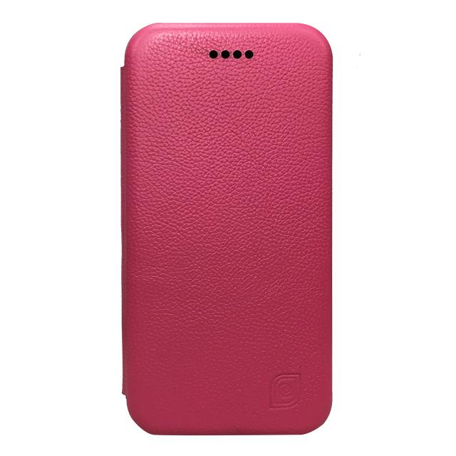 iPhone6/6s 合皮ブックレットケース/ ピンク