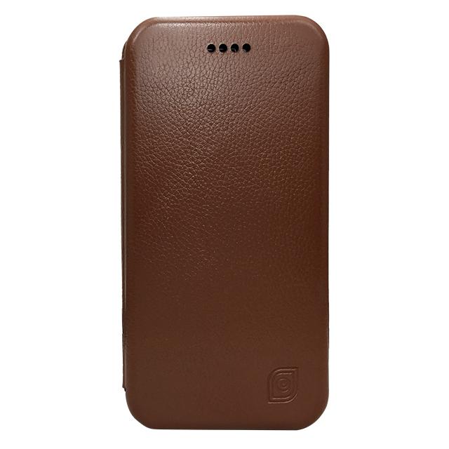 iPhone6/6s 合皮ブックレットケース/ ブラウン