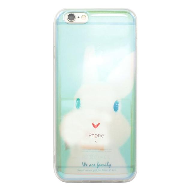 iPhone6/6s シリコンクリアケース / うさぎ