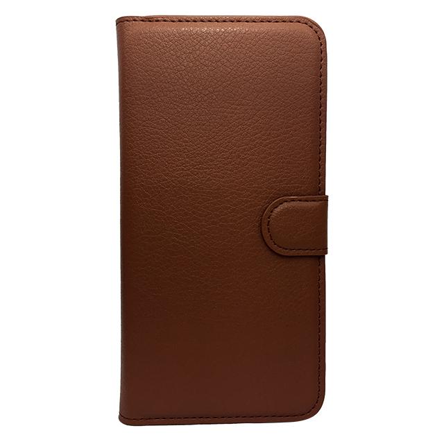 iPhone6 plus 合皮ブックレットケース/ ブラウン