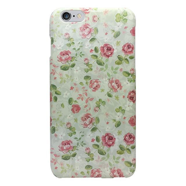 iPhone6 plus/6s plus シリコンケース/ 小花柄