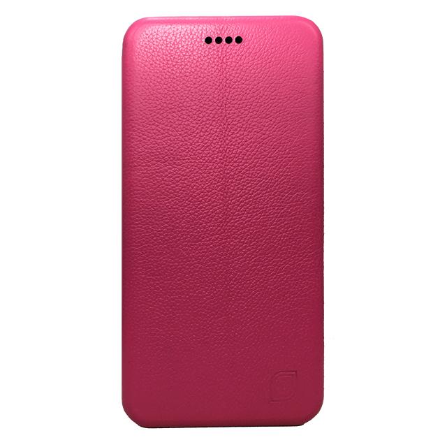 iPhone6 plus/6s plus 合皮ブックレットケース/ ピンク