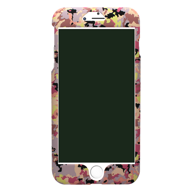 iPhone6/6s 迷彩柄両面ケース /ピンク