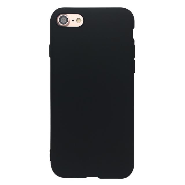 iPhone7 シリコンケース/ブラック