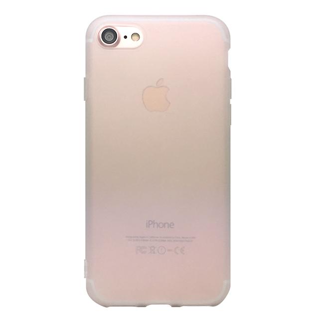 iPhone7 シリコンケース/ホワイト