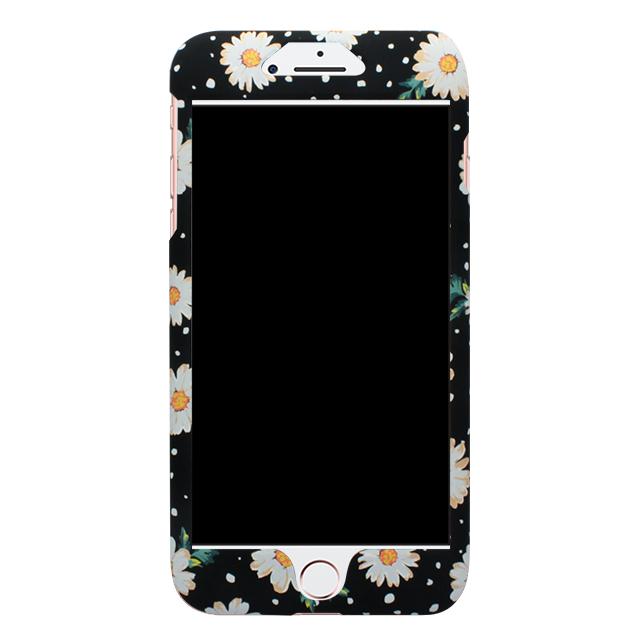 iPhone7Plus / しろ小花柄両面ケース