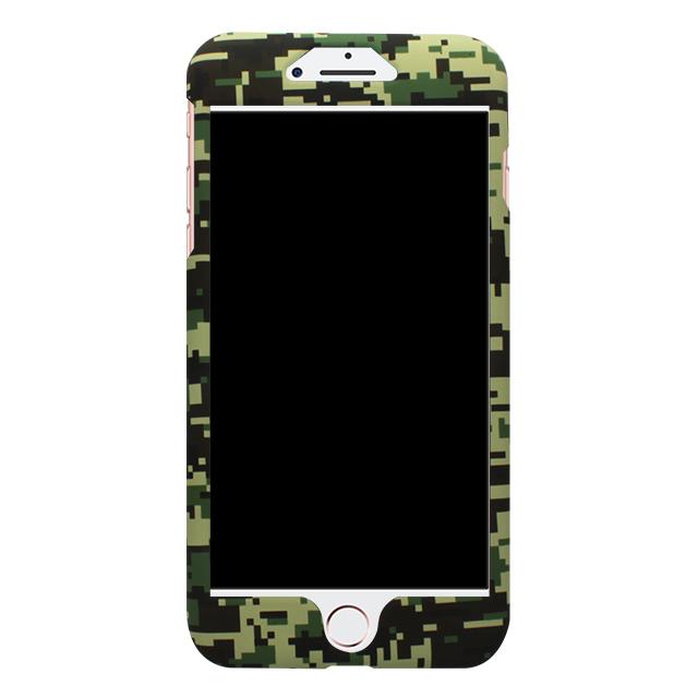 iPhone7Plus / 迷彩柄両面ケース / グリーン