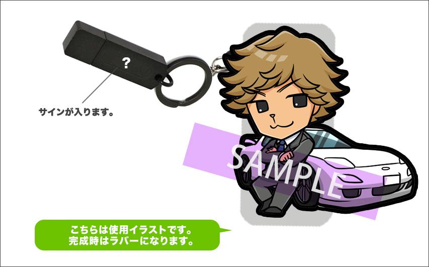 しゃべるラバーマスコット付 USBメモリー Model:古谷徹(再受注)