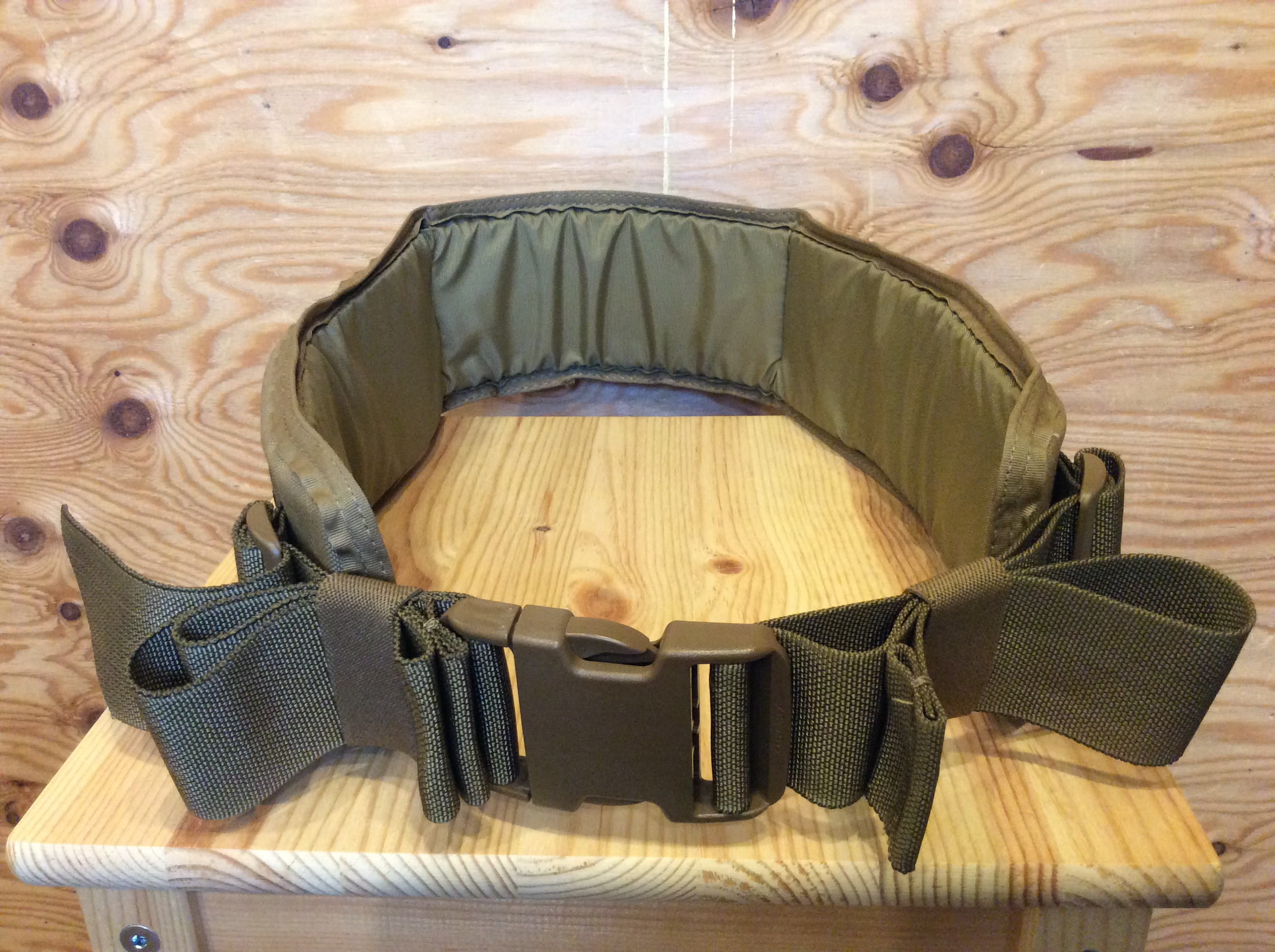 ATLAS46 Harvey Padded Belt with Poron® / COLOR COYOTE / SIZE M 32~34inch