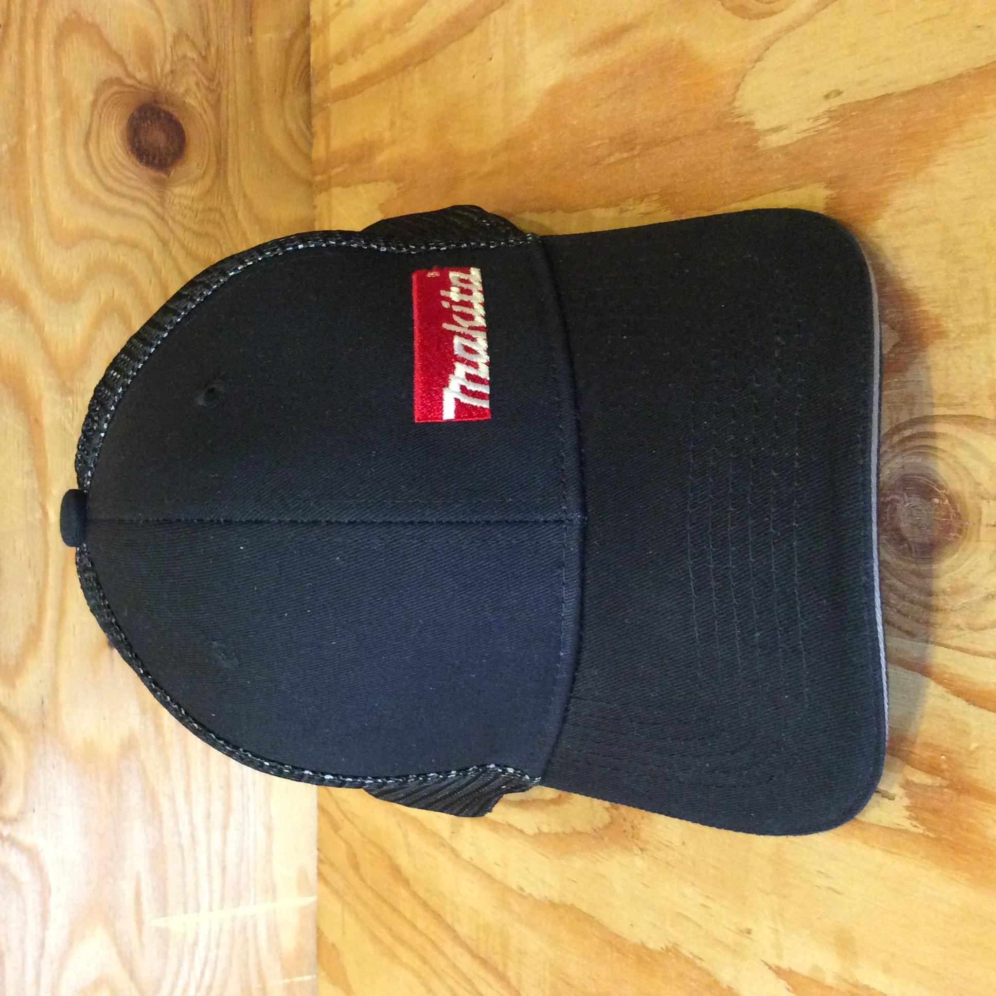 Makita Double Mesh Snapback Hat - Silver