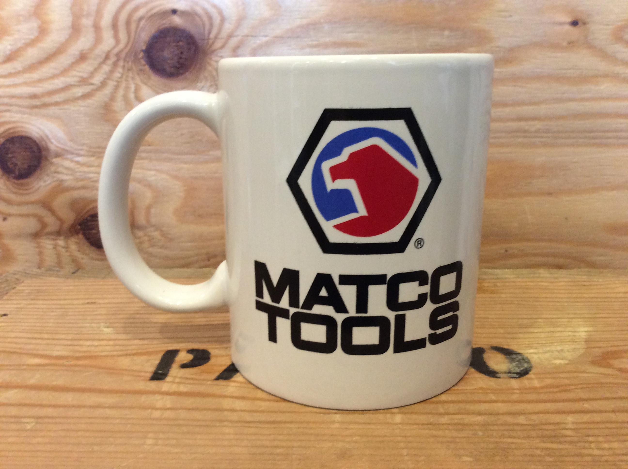 MATCO TOOLS VINTAGE MUG CUP 2 / USED