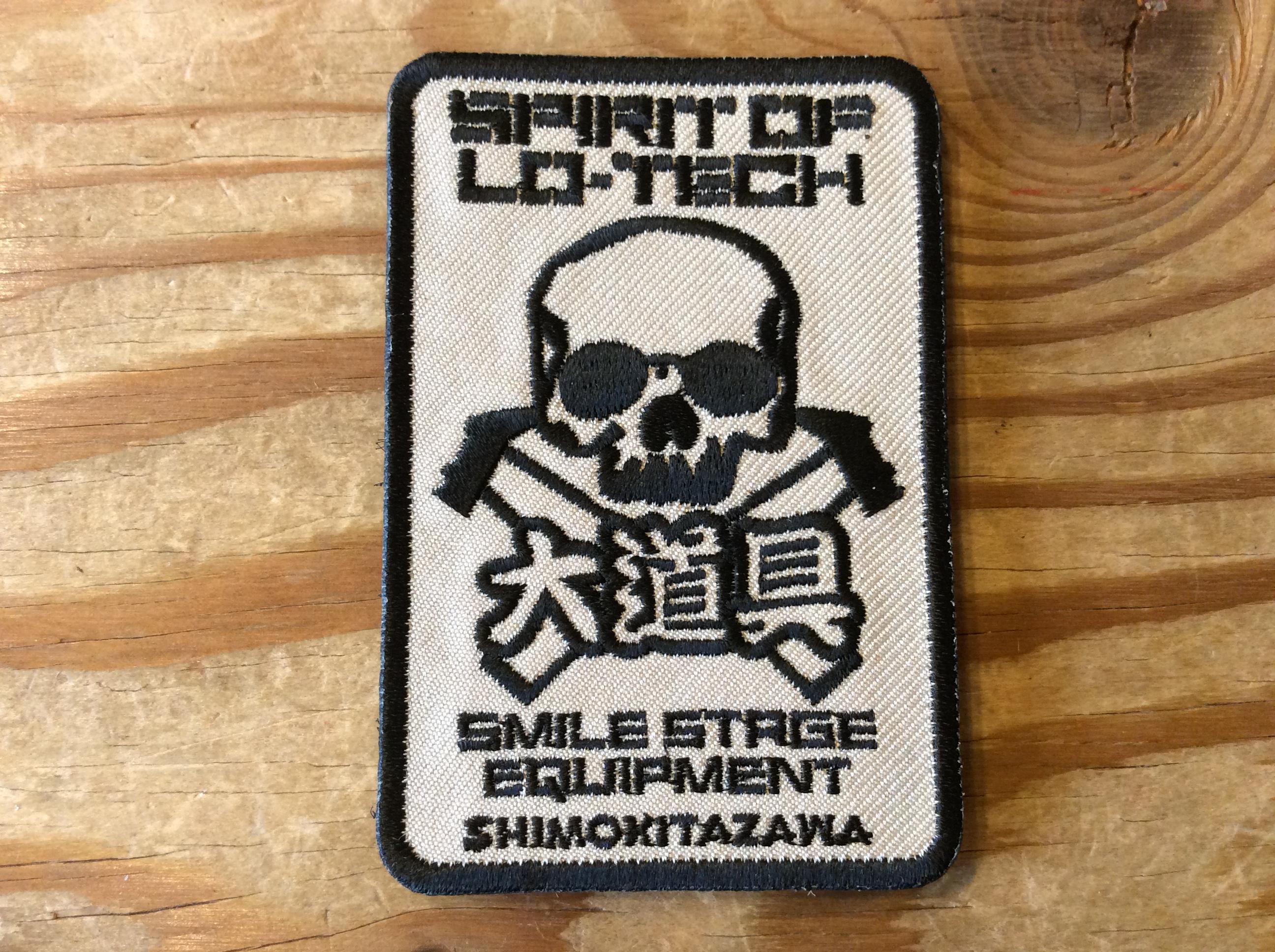 "SMILE STAGE ""SPIRIT OF LO-TECH ""大道具ver ワッペン"