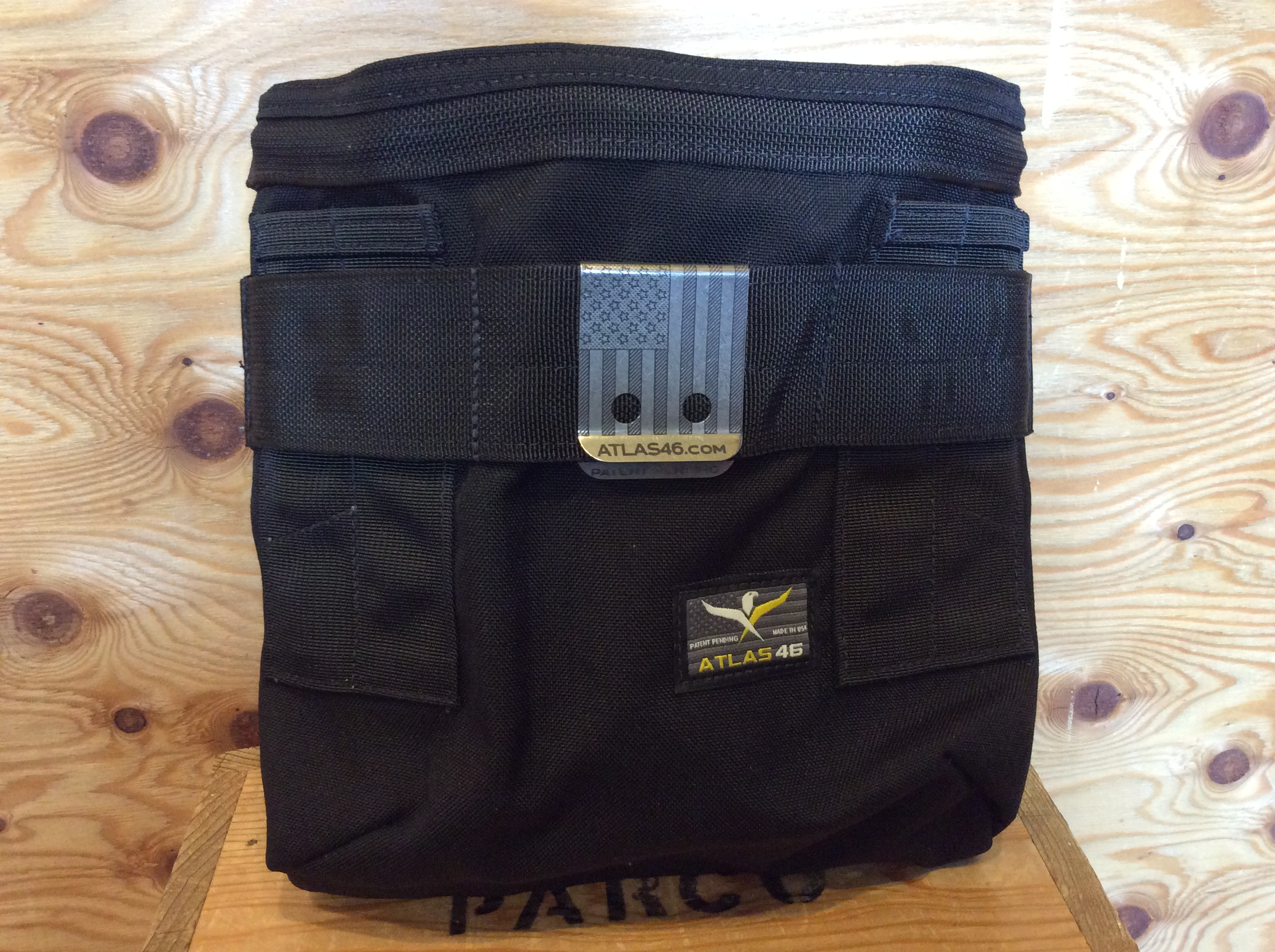 ATLAS46 AIMS™ Stock and Barrel Pouch / BLACK