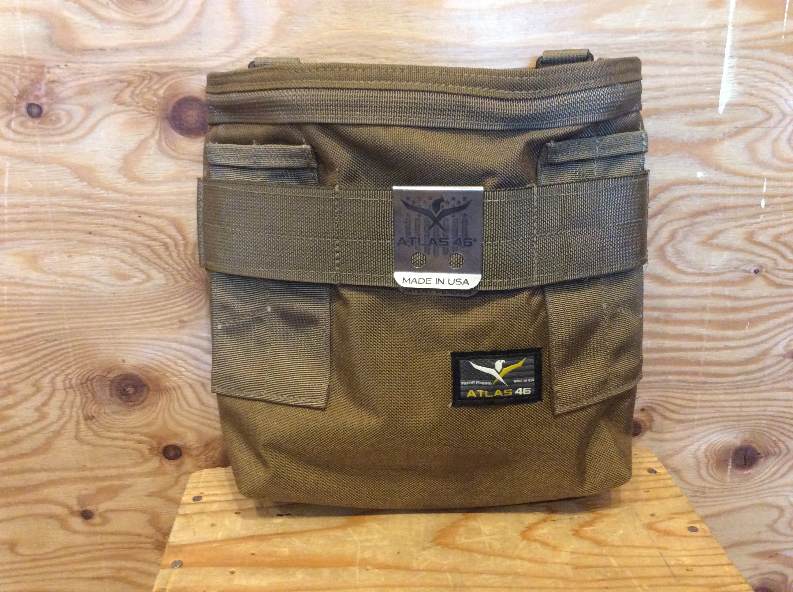 ATLAS46 AIMS™ Stock and Barrel Pouch / COYOTE