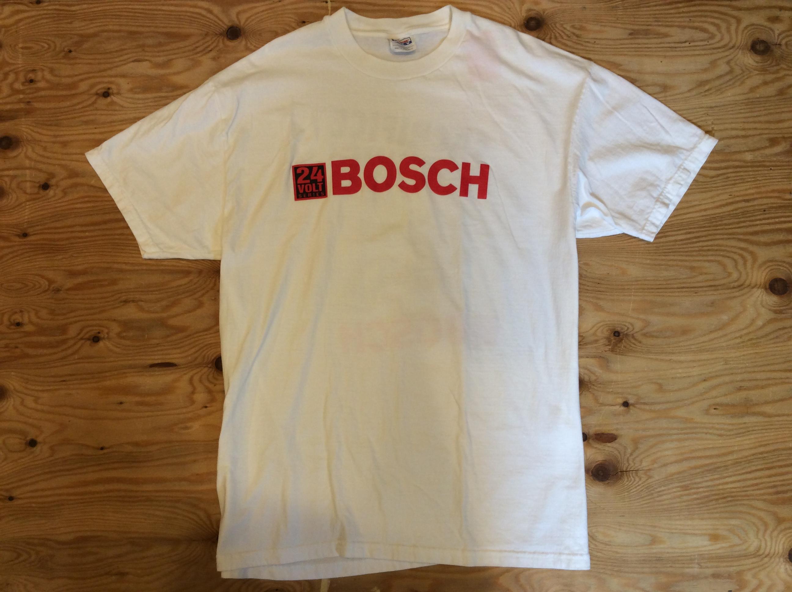 "BOSCH ""SACRIFICE NOTHING"" T-SHIRT / XL /USED"