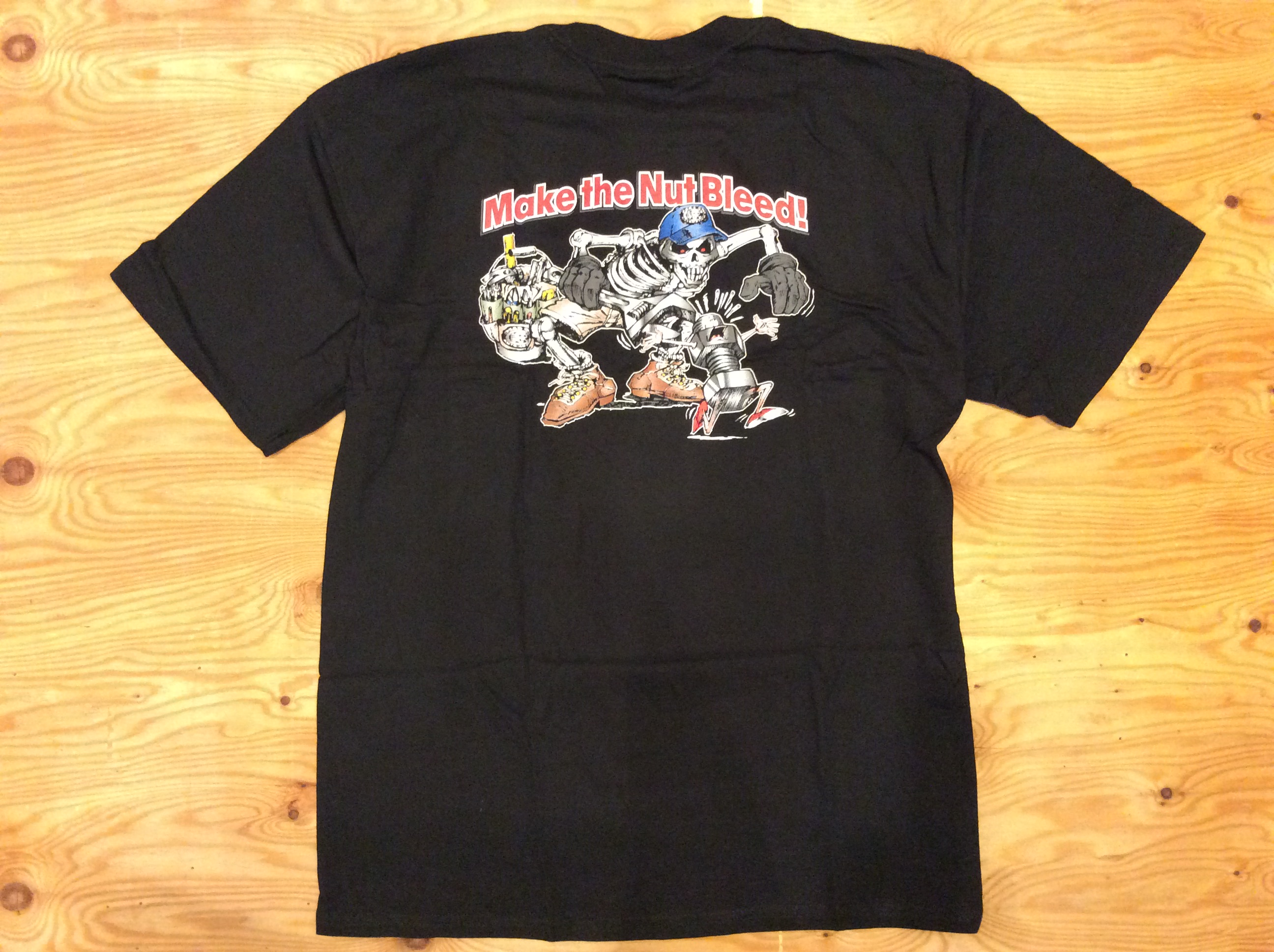 """DEAD ON TOOLS """"MAKE THE NUT BLEED"""" T SHIRT / XL"""