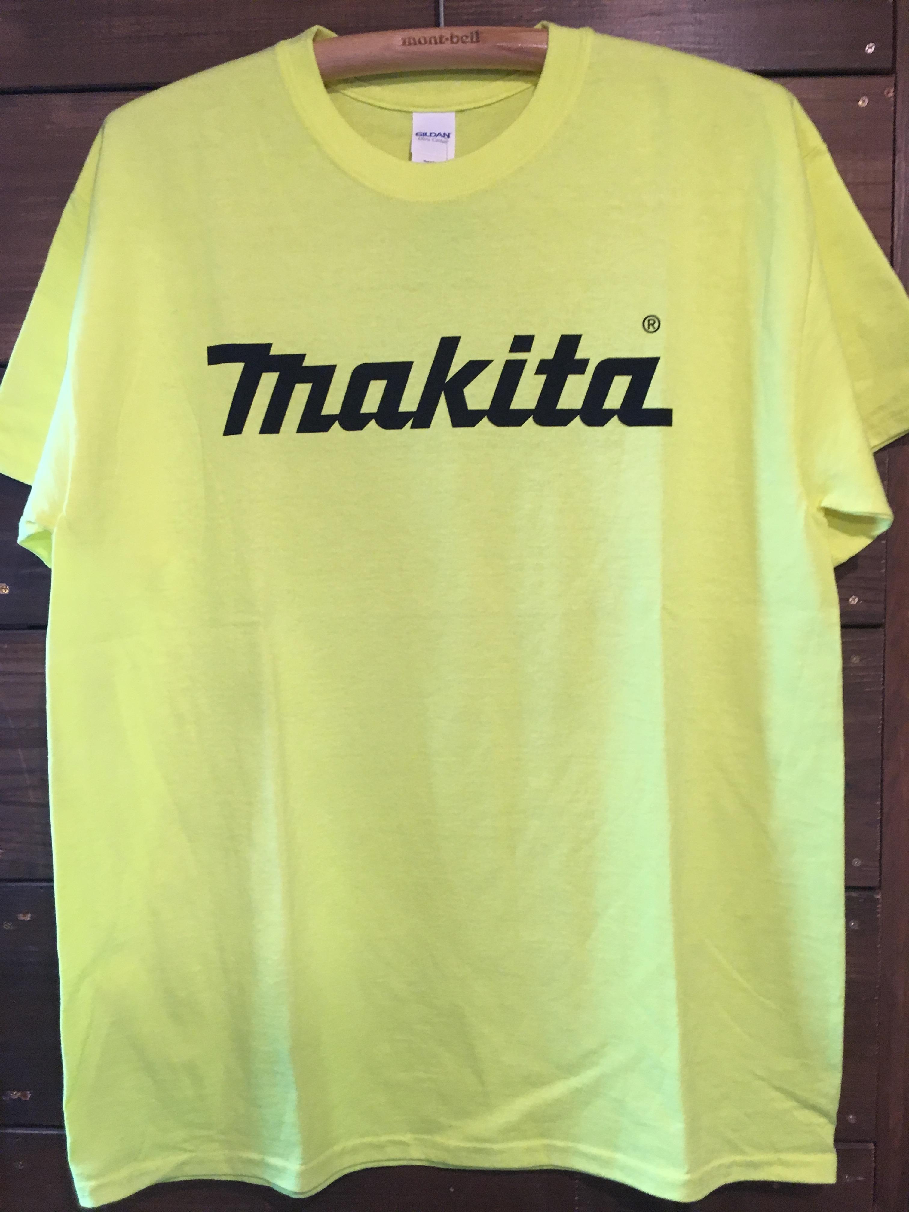 MAKITA YELLOW Tシャツ