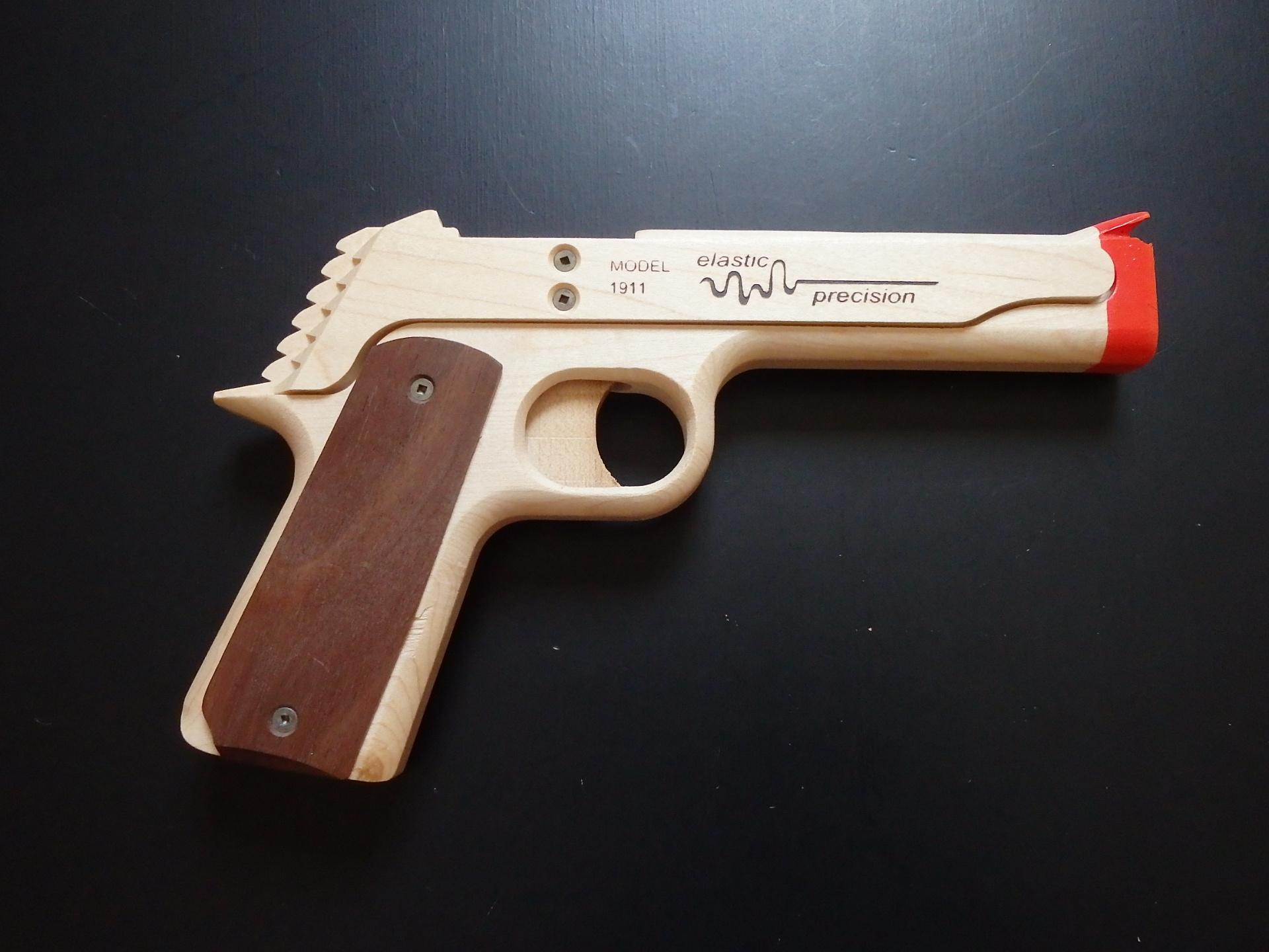 ELASTIC PRECISION MODEL 1911 RUBBER BAND GUN