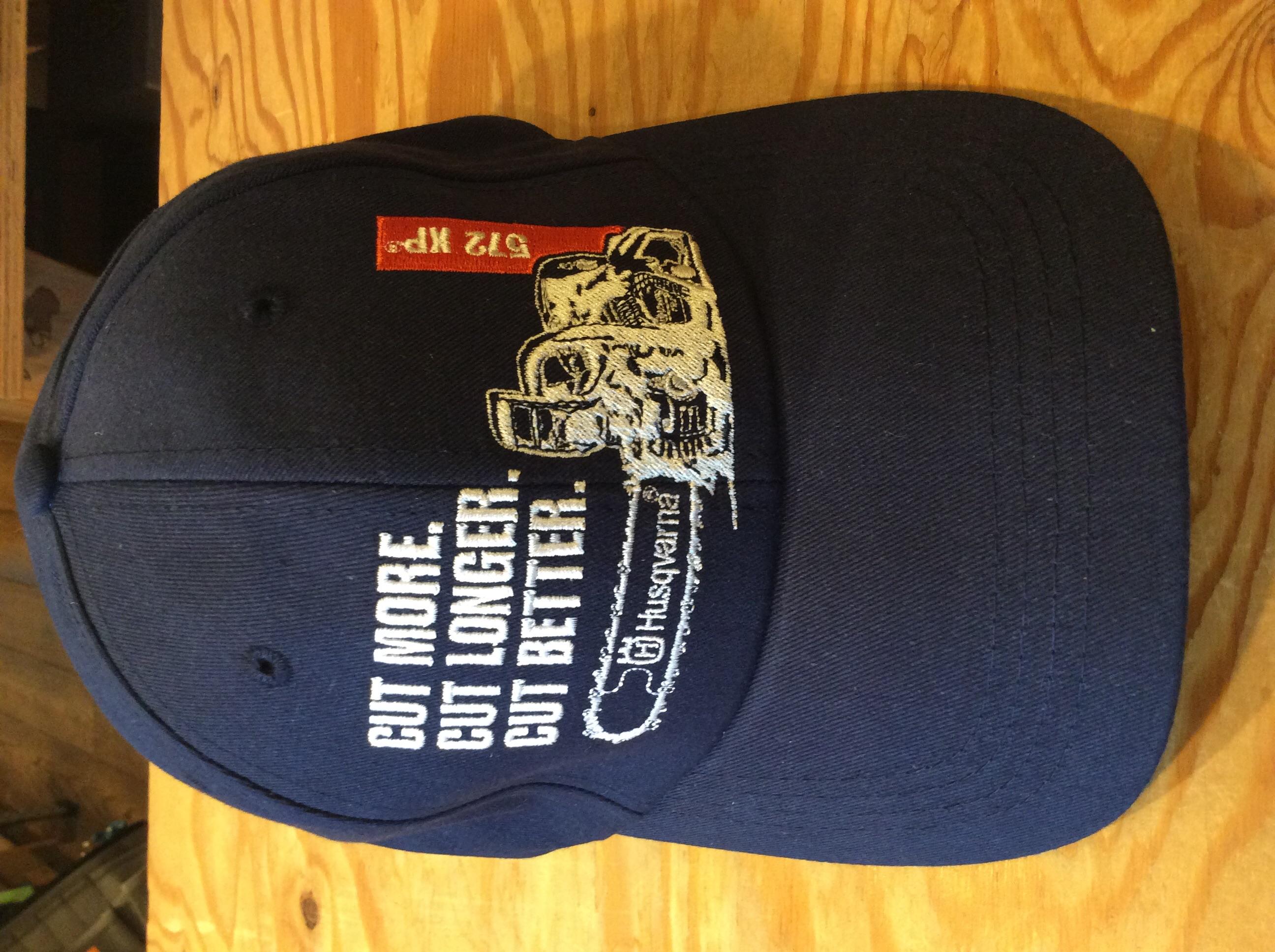 Husqvarna chainsaw blue 572xp chainsaw cut more hat