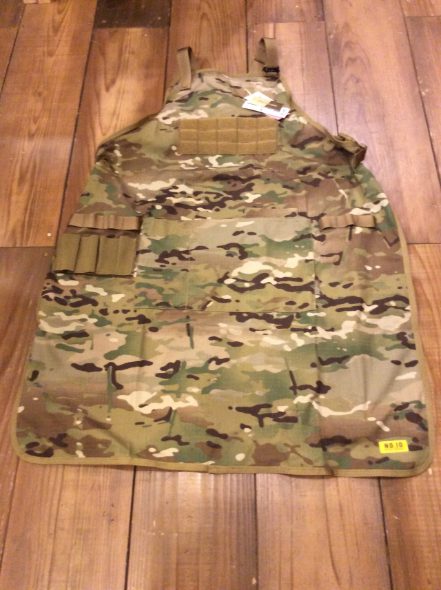 NO.10 TACTICAL HOMEWARE MULTICAM APRON