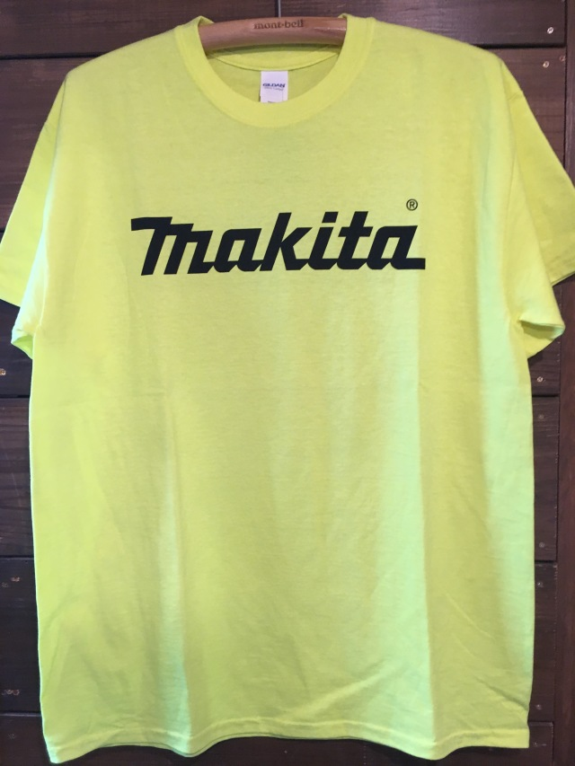 MAKITA YELLOW Tシャツ