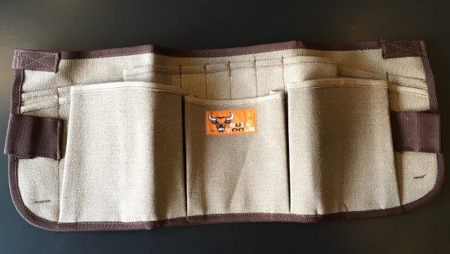 Bull Tools Heavy Weight Cotton Canvas Apron 13 Pocket
