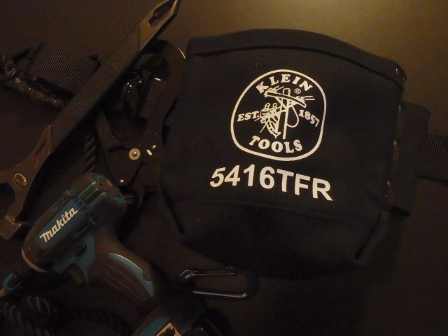 Klein Tools 5416TFR Flame-Retardant Canvas Bolt Bag