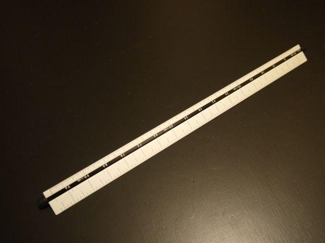 シンワ 三角回転スケール 30cm 尺相当目盛付