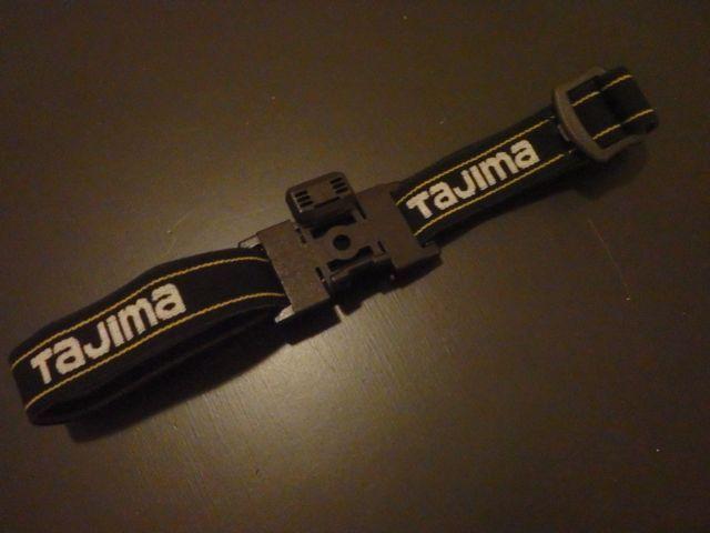 TAJIMA タジマ PETA マルチライト用 ヘッドバンドB2W25 ミリ